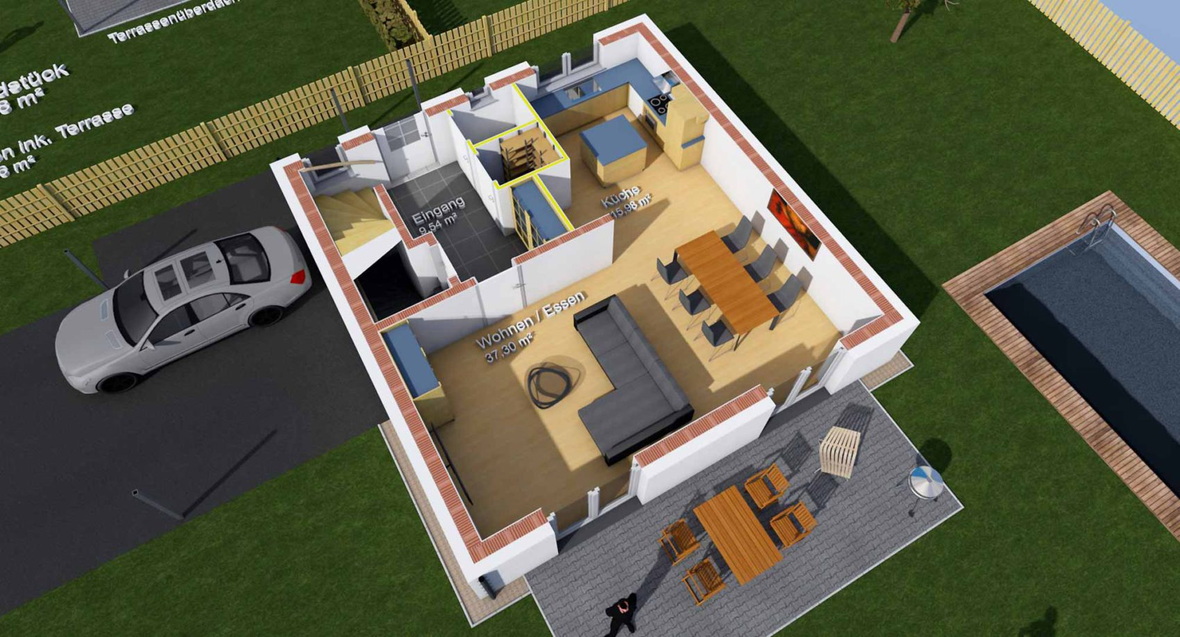 Planung: Innenraum-EG