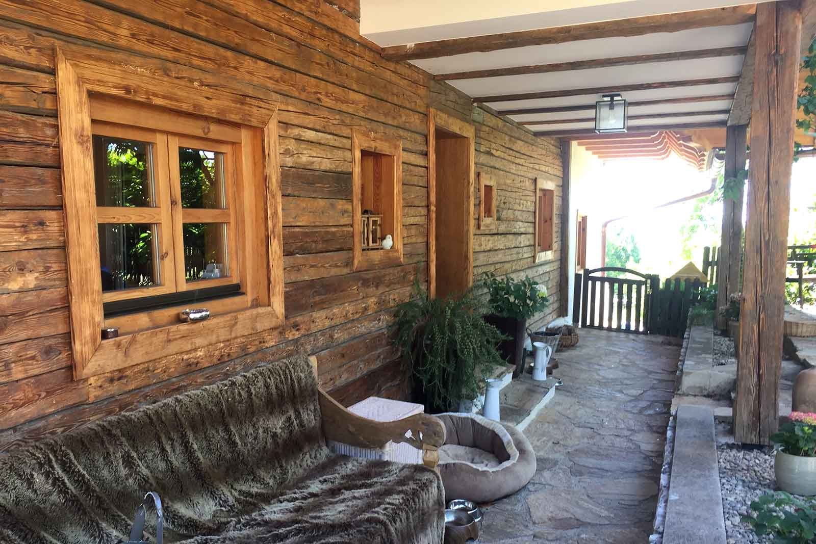 Holzbau-Einfamilienhaus